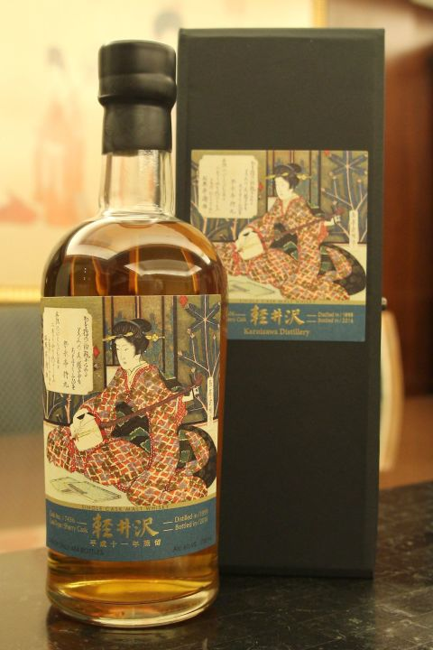 (現貨) Karuizawa 1999 Single Cask 輕井澤 1999 單桶 三曲之一 三味線 (700ml 60.6%)