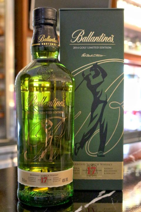 BALLANTINE'S 17 years  2014 Golf Limited Edition 百齡罈 17年 2014 高球限定版 (700ml 40%)