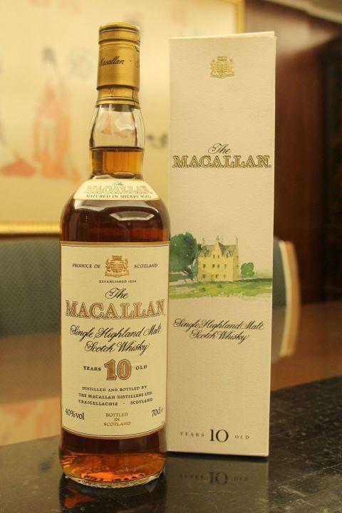 (現貨) MACALLAN 10 years 麥卡倫 10年 絕版圓瓶 (700ml 40%)