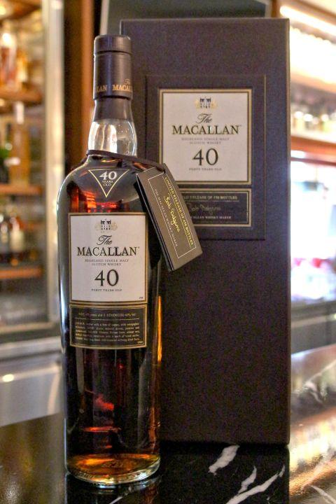 (現貨) Macallan 40 years 麥卡倫 40年 稀有典藏 (700ml 43%)