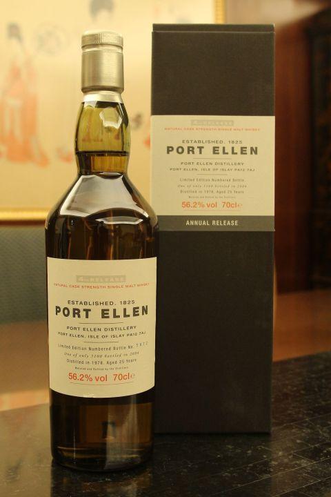 (現貨) Port Ellen 25 years 4th release 1978 波特艾倫 25年 第4版 1978 (700ml 56.2%)