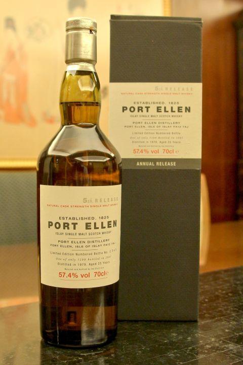 (現貨) Port Ellen 25 years 5th release 1979 波特艾倫 25年 第5版 1979 (700ml 57.4%)