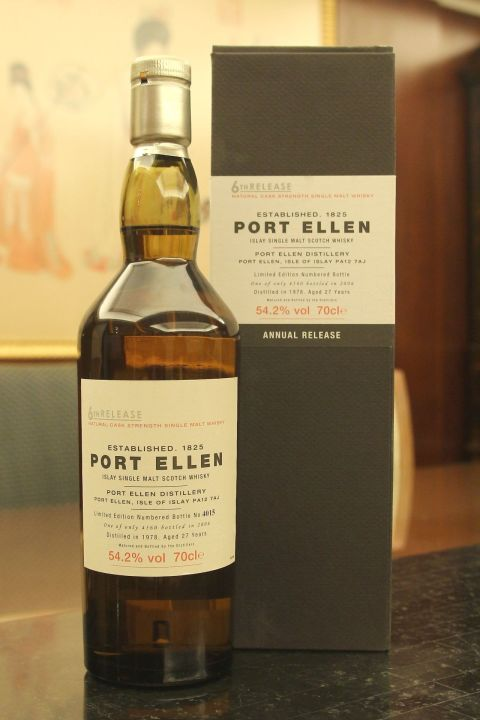 (現貨) Port Ellen 27 years 6th release 1978 波特艾倫 27年 第6版 1978 (700ml 54.2%)