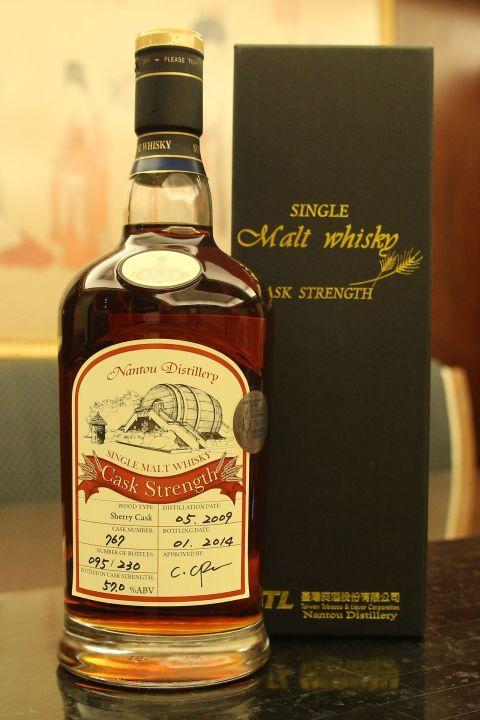 (現貨) TTL Nantou Distillery Sherry Cask SFWS 台酒 南投酒廠 SFWS銀牌 雪莉單桶 (700ml 57%)