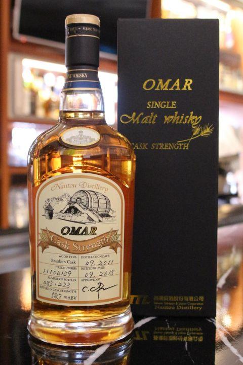 (現貨) TTL Nantou Distillery OMAR Bourbon Cask 台酒 南投酒廠 波本單桶 (700ml 58.7%)