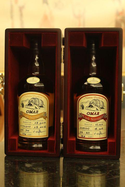 (現貨) TTL Nantou Distillery OMAR Airport Limited 台酒 南投酒廠 機場限定 單桶中樣組 (200ml 58.4%及57.4%)