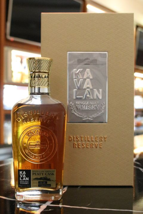 Kavalan Distillery Reserve Peaty Cask 噶瑪蘭 煙燻泥煤桶原酒 酒廠限定 (300ml 53.2%)