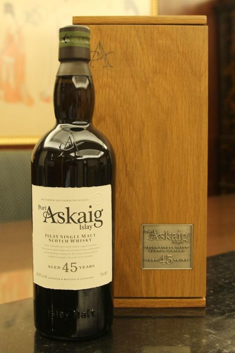 (現貨) Port Askaig Islay 45 years 波特阿西卡 45年 原酒 (700ml 40.8%)