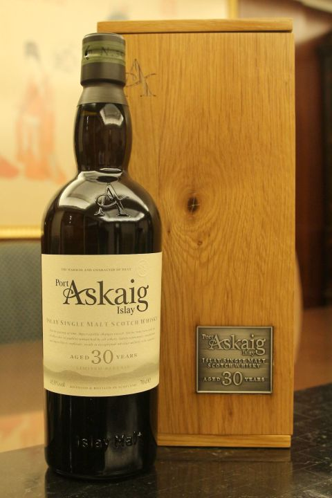 (現貨) Port Askaig Islay 30 years 波特阿西卡 30年 原酒 (700ml 45.8%)