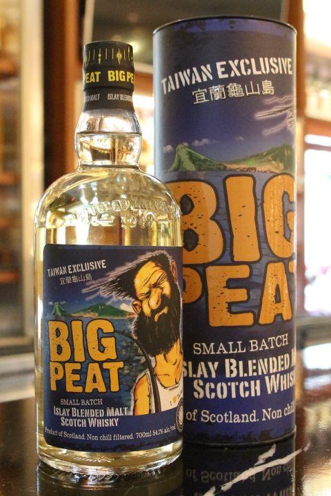 (現貨) Big Peat Taiwan Exclusive 道格拉斯蘭恩 泥煤哥 宜蘭龜山島 台灣限定版 (700ml 54.1%)