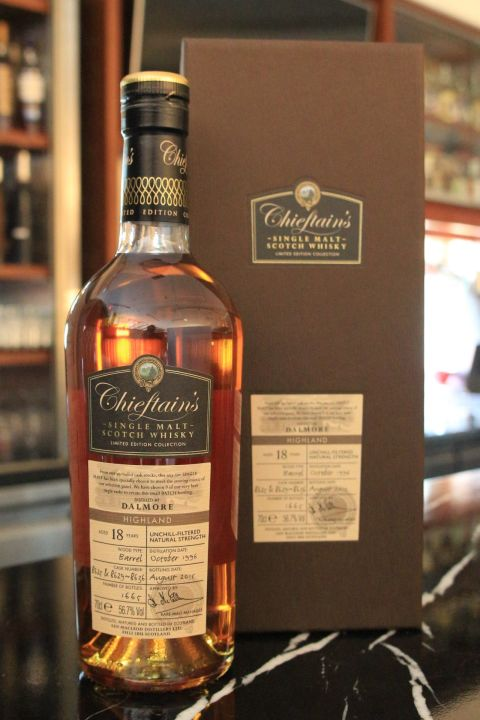 (現貨) Chieftain's Dalmore 18 years 老酋長 大摩 18年 單桶 (700ml 56.7%)