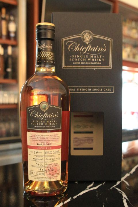(現貨) Chieftain's Dalmore 19 years 老酋長 大摩 19年 單桶 (700ml 53.8%)