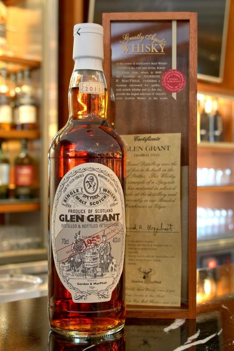 (現貨) Gordon & Macphail Glen Grant 1955 56 years 格蘭冠 1955 56年 雪莉桶 (700ml 40%)