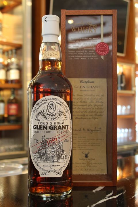 (現貨) Gordon & Macphail Glen Grant 1959 50 years 格蘭冠 1959 50年 雪莉桶 (700ml 40%)