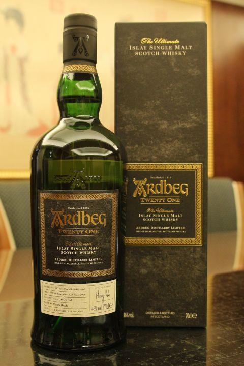 (現貨) Ardbeg Twenty One - 21 years Ex-Bourbon 雅柏 阿貝 21年 波本桶 (700ml 46%)
