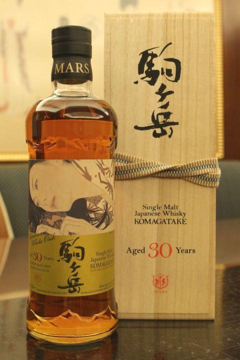 (現貨) Mars Whisky KOMAGATAKE 1986 30 years 駒之岳 1986 30年 美國白橡木桶 原酒 (700ml 61%)