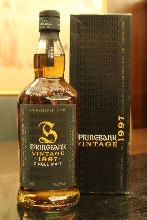 Springbank Vintage 1997 Batch No.1 雲頂 1997 第一版 (700ml 55.2%)