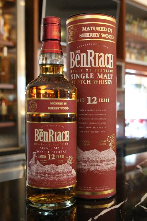 BenRiach 12 years Sherry Wood Matured 班瑞克 12年 紅鼎 (700ml 46%)