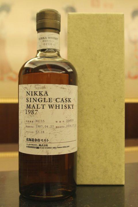 Yoichi 1987 single cask 余市 1987 單桶原酒 (700ml 53.1%)