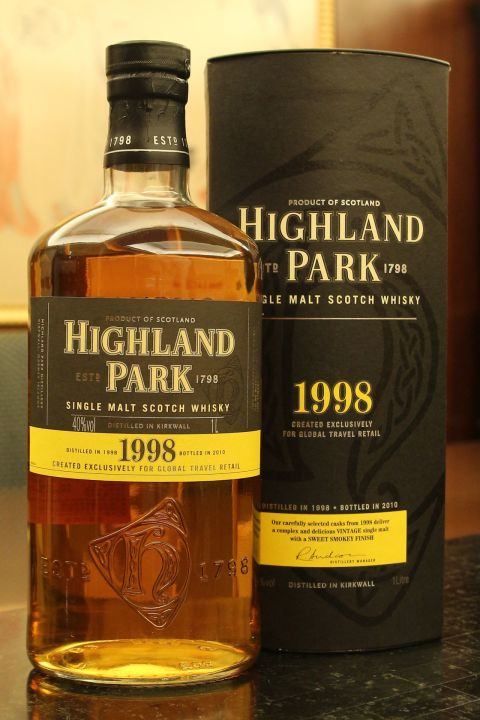 Highland Park 1998 高原騎士 1998 (1000ml 40%)