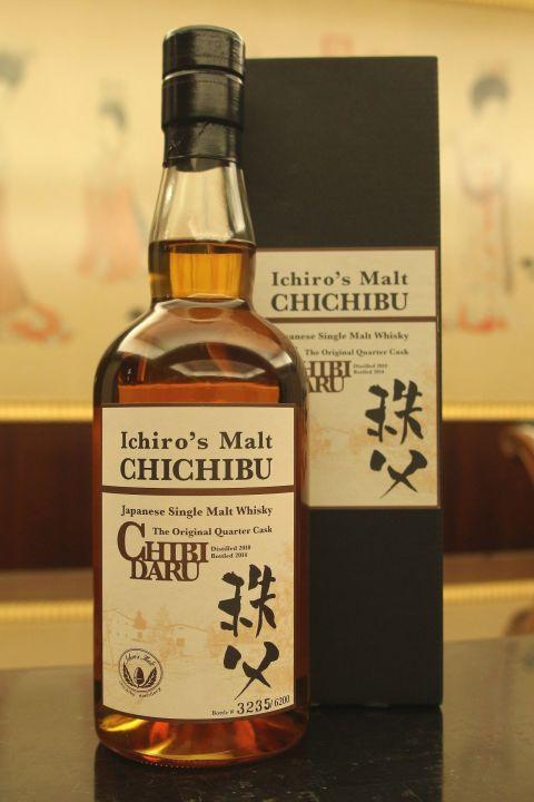 (現貨) CHICHIBU CHIBIDARU the original quarter cask 2014 秩父 1/4桶 (700ml 53.5%)