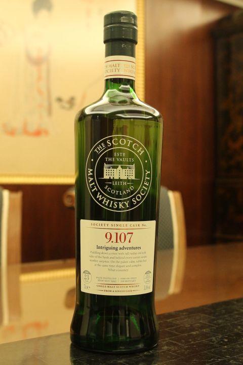 (現貨) SMWS 9.107 Glen Grant 23 years 格蘭冠 單桶原酒 23年 蘇格蘭威士忌協會 (700ml 51.4%)