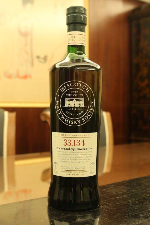 SMWS 33.134 Ardbeg 8 years 雅柏 阿貝 8年 單桶原酒 蘇格蘭威士忌協會 (700ml 60.9%)