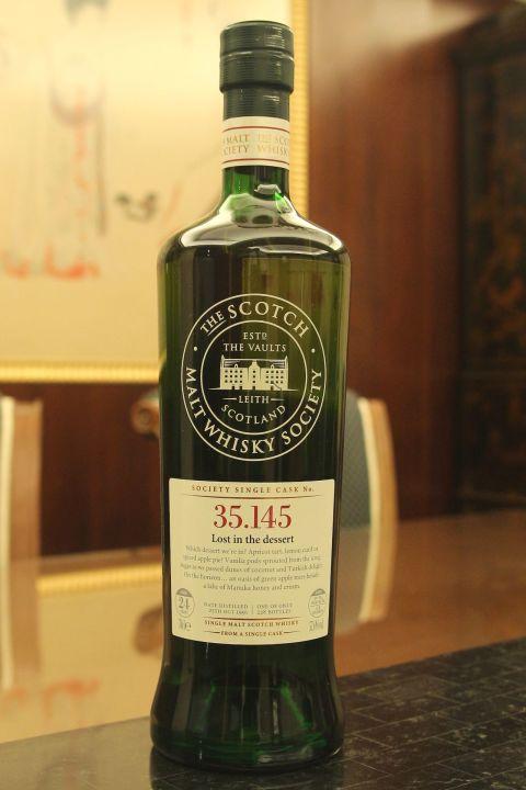 (現貨) SMWS 35.145 Glen Moray 24 years 格蘭莫雷 單桶原酒 24年 蘇格蘭威士忌協會 (700ml 57.6%)