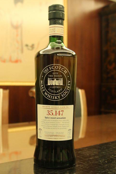 SMWS 35.147 Glen Moray 21 years 格蘭莫雷 單桶原酒 21年 蘇格蘭威士忌協會 (700ml 55.3%)