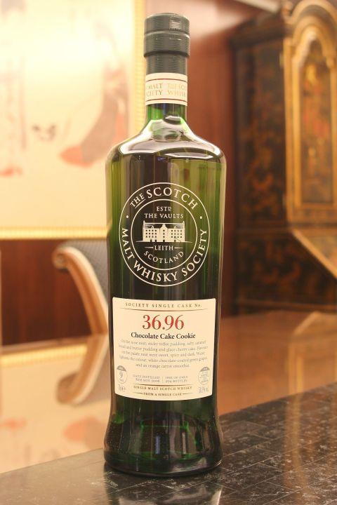 (現貨) SMWS 36.96 BENRINNES 9 years 班蕊斯 單桶原酒 9年 蘇格蘭威士忌協會 (700ml 58.1%)
