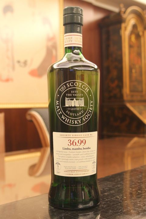 (現貨) SMWS 36.99 BENRINNES 9 years 班蕊斯 單桶原酒 9年 蘇格蘭威士忌協會 (700ml 57.8%)
