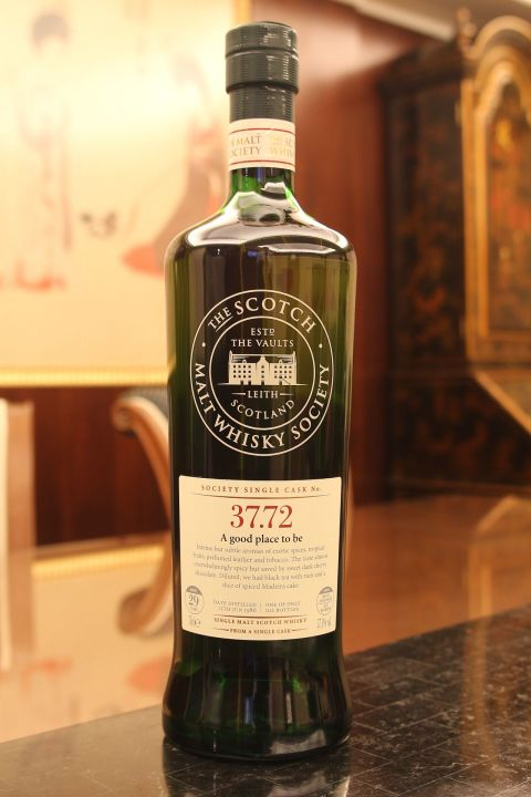 (現貨) SMWS 37.72 Cragganmore 29 years 克拉格摩爾 單桶原酒 29年 蘇格蘭威士忌協會 (700ml 57.1%)