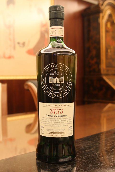 (現貨) SMWS 37.73 Cragganmore 29 years 克拉格摩爾 單桶原酒 29年 蘇格蘭威士忌協會 (700ml 56.5%)