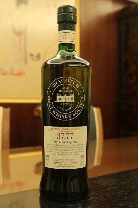 (現貨) SMWS 37.77 Cragganmore 28 years 克拉格摩爾 單桶原酒 28年 蘇格蘭威士忌協會 (700ml 57.2%)