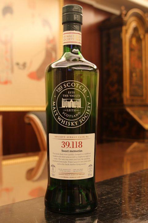 SMWS 39.118 Linkwood 8 years 林肯伍德 8年 單桶原酒 蘇格蘭威士忌協會 (700ml 59.5%)