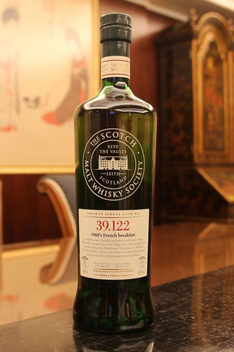 SMWS 39.122 Linkwood 8 years 林肯伍德 8年 單桶原酒 蘇格蘭威士忌協會 (700ml 60.1%)