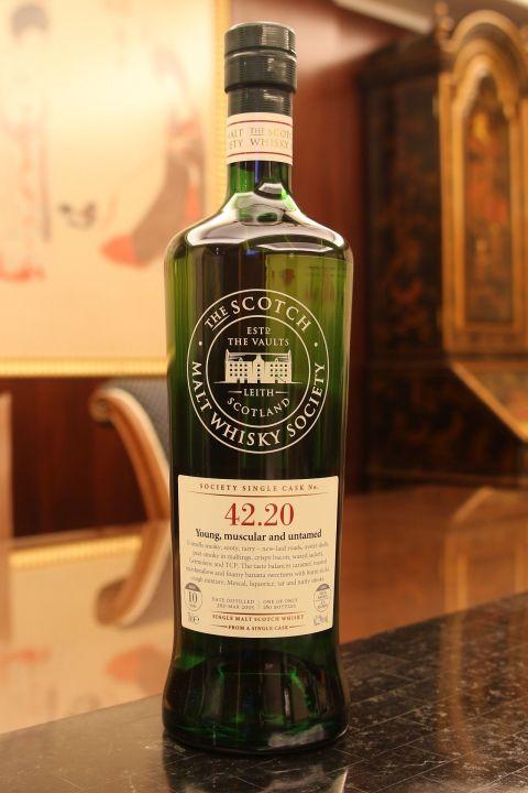 (現貨) SMWS 42.20 Tobermory 10 years 托本莫瑞 單桶原酒 10年 蘇格蘭威士忌協會 (700ml 62.2%)