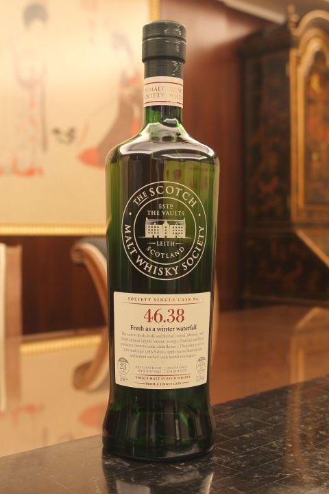 (現貨) SMWS 46.38 Glenlossie 23 years 格蘭洛希 單桶原酒 23年 蘇格蘭威士忌協會 (700ml 53.5%)