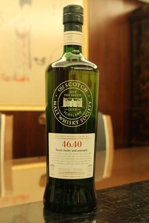(現貨) SMWS 46.40 Glenlossie 23 years 格蘭洛希 單桶原酒 23年 蘇格蘭威士忌協會 (700ml 54.5%)