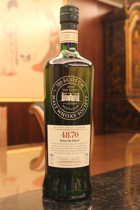 (現貨) SMWS 48.70 Balmenach 13 years 班羅馬克 單桶原酒 13年 蘇格蘭威士忌協會 (700ml 62.5%)