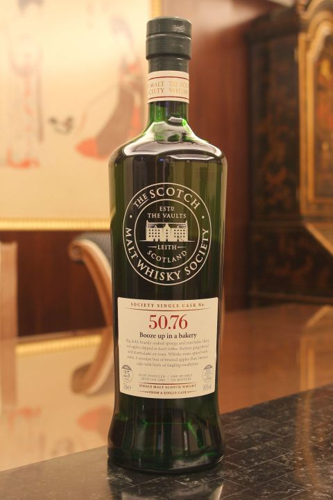 (現貨) SMWS 50.76 Bladnoch 25 years 布萊德納克 單桶原酒 25年 蘇格蘭威士忌協會 (700ml 59.1%)