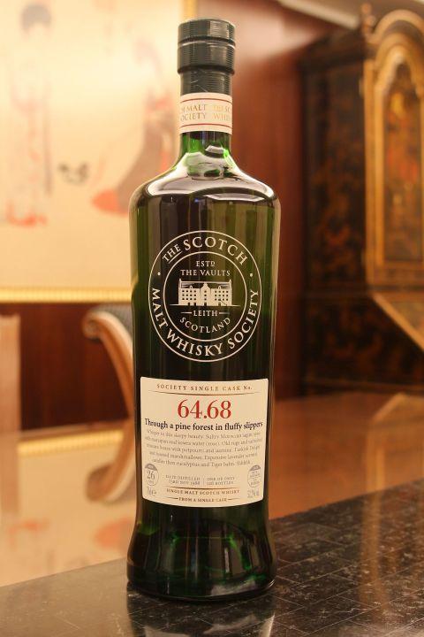 (現貨) SMWS 64.68 Mannochmore 26 years 曼洛克摩 單桶原酒 26年 蘇格蘭威士忌協會 (700ml 53.2%)