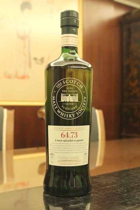 (現貨) SMWS 64.73 Mannochmore 26 years 曼洛克摩 單桶原酒 26年 蘇格蘭威士忌協會 (700ml 54.9%)