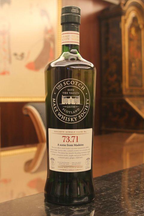 (現貨) SMWS 73.71 Aultmore 14 years 雅墨 單桶原酒 14年 蘇格蘭威士忌協會 (700ml 55.5%)