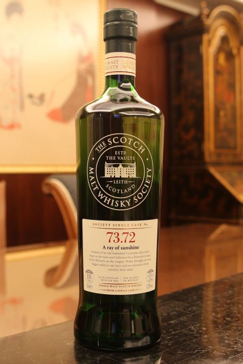 (現貨) SMWS 73.72 Aultmore 18 years 雅墨 單桶原酒 18年 蘇格蘭威士忌協會 (700ml 57.8%)