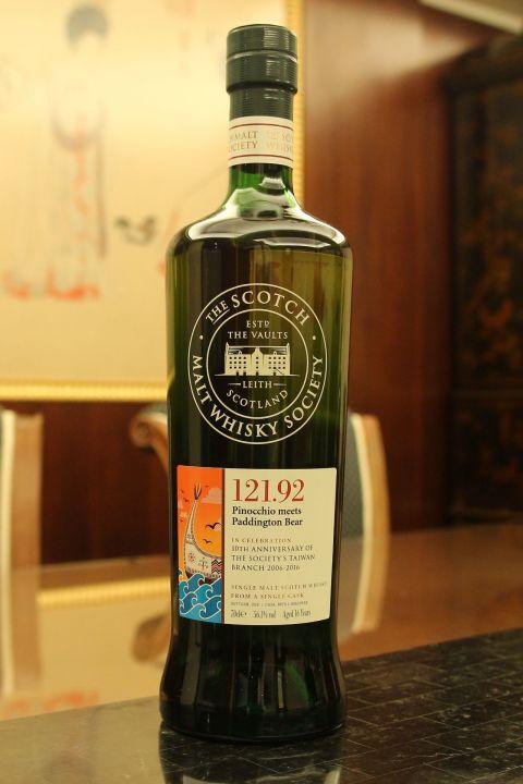 (現貨) SMWS 121.92 Arran 16 years 愛倫 16年 蘇格蘭威士忌協會 台灣限定版 (700ml 56.1%)