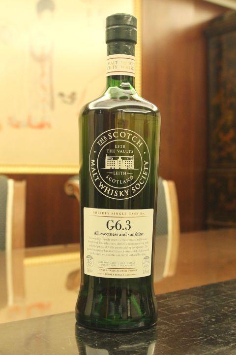(現貨) SMWS G6.3 Port Dundas 35 years 當德斯 單桶原酒 35年 蘇格蘭威士忌協會 (700ml 50.1%)