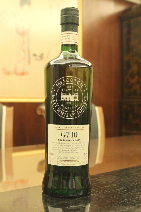 (現貨) SMWS G7.10 Girvan 31 years 格文 單桶原酒 31年 蘇格蘭威士忌協會 (700ml 59.2%)