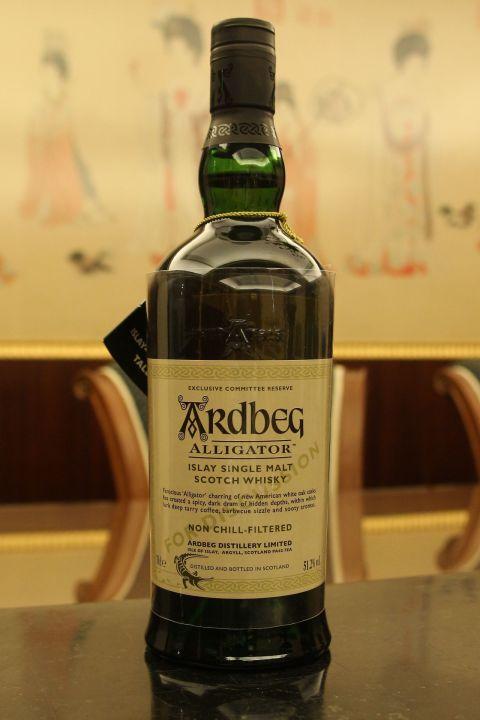 (現貨) Ardbeg Alligator Distillery Limited 阿貝 鱷魚 會員版 (700ml 51.2%)