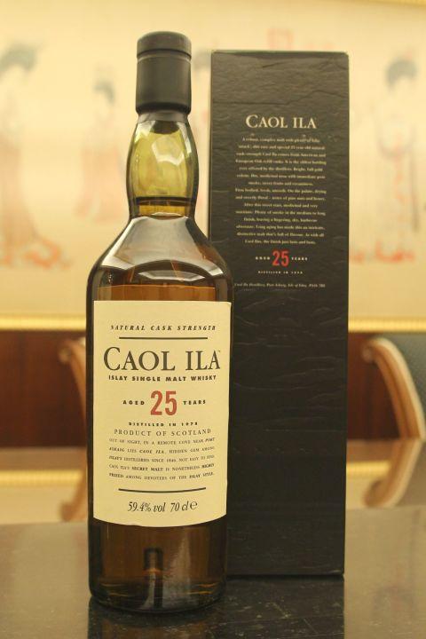 Caol Ila 1978 25 years Cask Strength 卡爾里拉 1978 25年 原酒 (700ml 59.4%)
